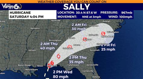 Hurricane Sally made landfall around 5am... - WJBF ...
