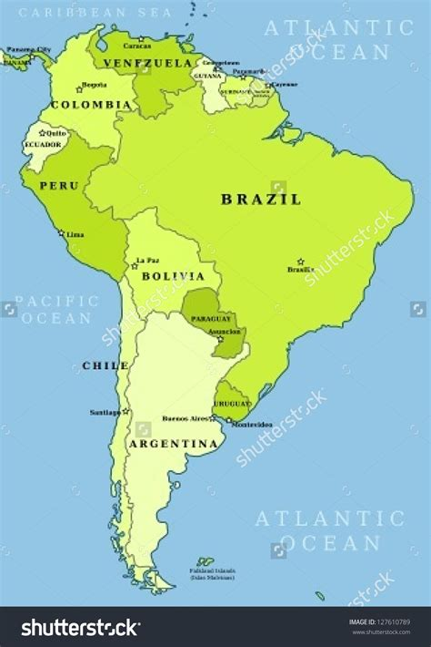 map  latin america  capitals  travel information