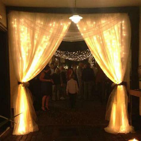 6x3m Warm White Waterproof Christmas Curtain Lights 600led