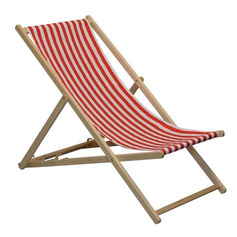 Traditional Adjustable Garden  Beachstyle Deck Chair