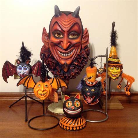 folk art halloween decorations images  pinterest halloween decorations halloween