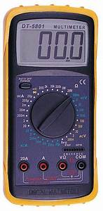 Digital Multimeter Dt5801 Id 911226  Product Details