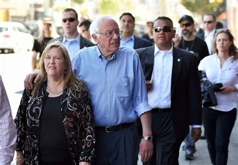 Bernie Sanders with His Wife