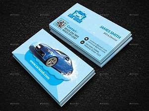 car wash business card by creative touch graphicriver With car wash business card