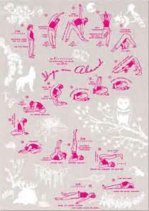 plakat yoga  abend