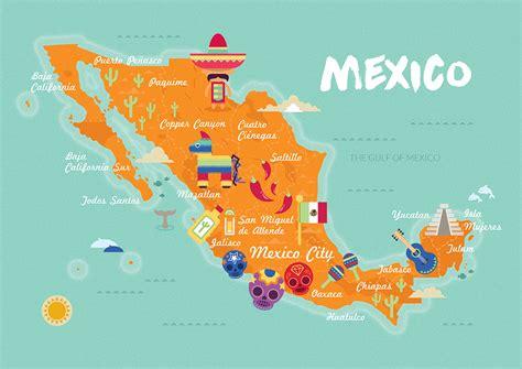 Michelle Hird » Mexico Map