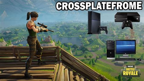 Jouer En Cross Plateforme Sur Fortnite Battle Royale ! Pc