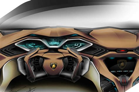 future lamborghini bikes spd lamborghini concept interior design sketch car