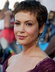 Alyssa Milano Short Hair