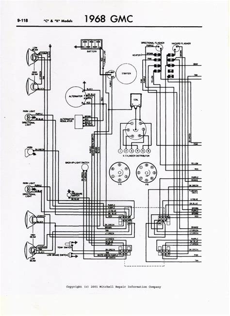 68 Chevy Wiring Schematic For by 63 Chevy Truck Turn Signal On A 66 Gmc 1 2 Truck Which