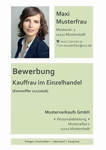 Bewerbung Als Kaufmann Im Einzelhandel : deckblatt bewerbung 100 kostenlose muster vorlagen ~ Watch28wear.com Haus und Dekorationen