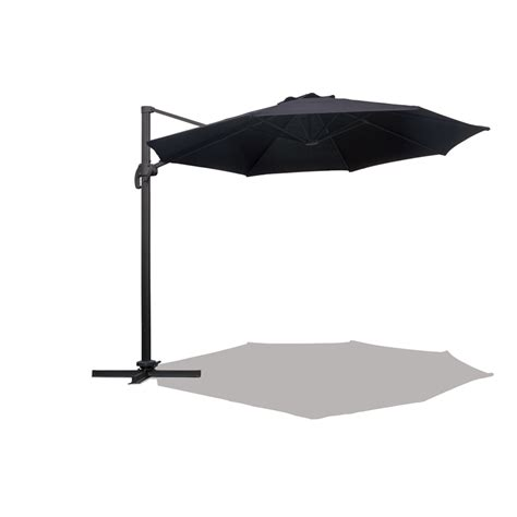 mimosa 3m black cantilever umbrella bunnings warehouse