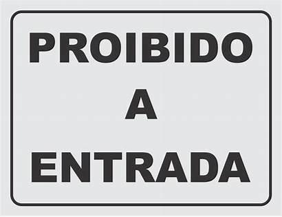 Entrada Proibido Placa Porta Somente Fechada Mantenha