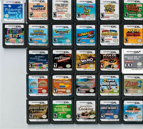 Gamelist.txt must be on the same folder than the binaries. Lot of 27 Nintendo NDS DS 3DS NFR Not For Resale Store ...