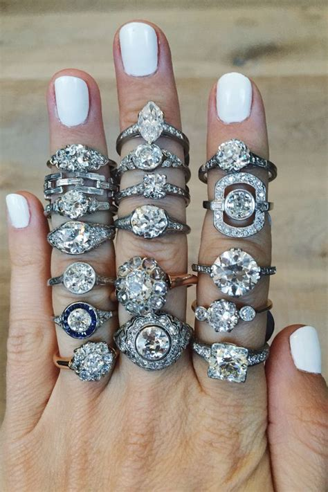 sparkly engagement rings   kind  bride deer