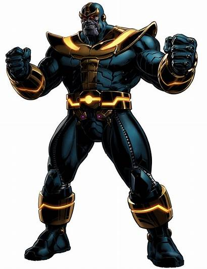 Thanos Avengers Alliance Marvel Figurine Toy Comics