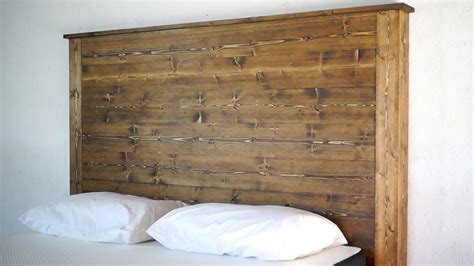 how to make a size headboard how to make a headboard modern builds ep 26