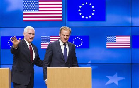 The President S Consilium Us Vice President On Goodwill Mission In Brussels