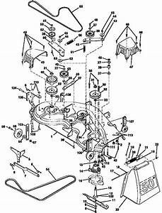 32 Craftsman 50 Inch Mower Deck Belt Diagram
