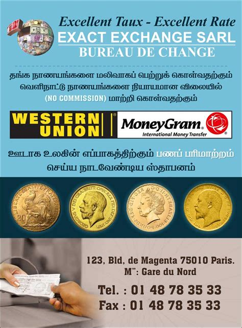 bureau de change 94 exact exchange sarl
