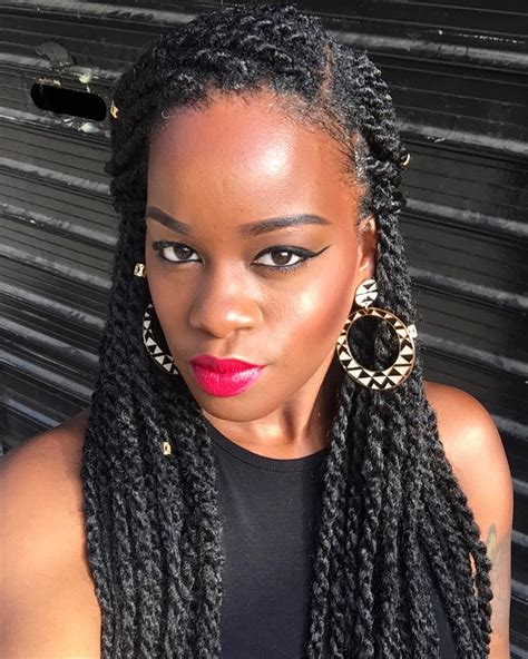 5 simple yet ways to style marley twists
