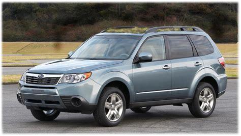 2010 Subaru Forester Gets Revolutionary 'green Roof' Option