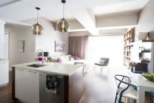 contemporary pendant lights for kitchen island kitchen island stamen pendants featured in designer 39 s sustainable starter apartment