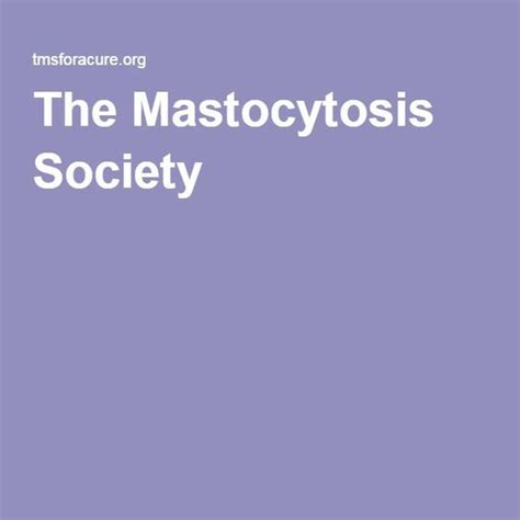 Mast Cell Disease Faces
