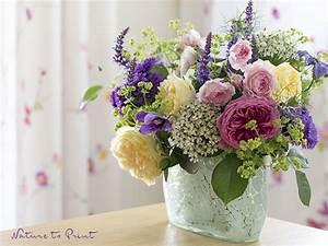 Welche Blumen Blühen Im Winter Draußen : ein blumenstrau mit englischen rosen frisch aus dem garten ~ Watch28wear.com Haus und Dekorationen