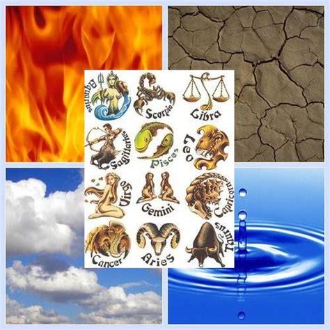 hubungan empat unsur alam  zodiak  info   mungkin  tahu