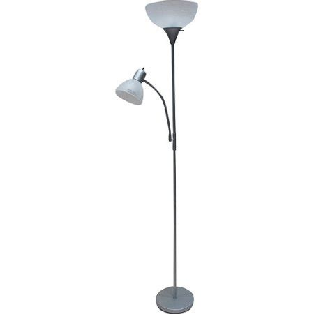 Mainstays Floor L Bulb by Mainstays Combo Floor L In Silver With Bonus Cfl Bulb