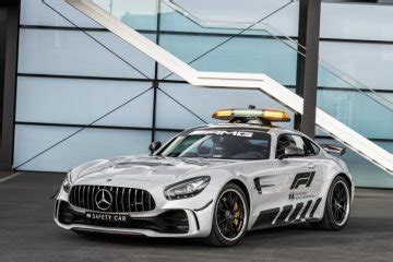 Even closer partnership between the performance specialists. Mercedes-AMG GT R new pace car in the 2018 Formula 1 ...