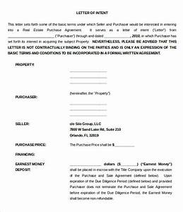 10 real estate letter of intent templates pdf doc With letter of intent to purchase property template