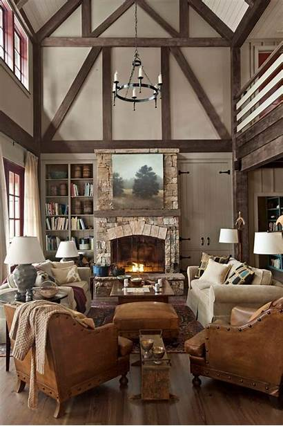 Living Country Decor Cozy Rooms Classic Furniture