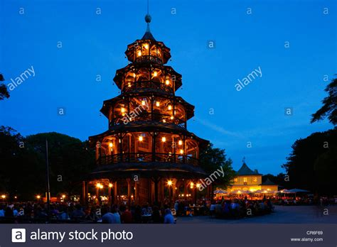 chinesischer turm englischer garten münchen parken chinesischer turm tower garden englischer garten