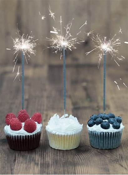 July Birthday Cake Happy Sparklers 4th Williams