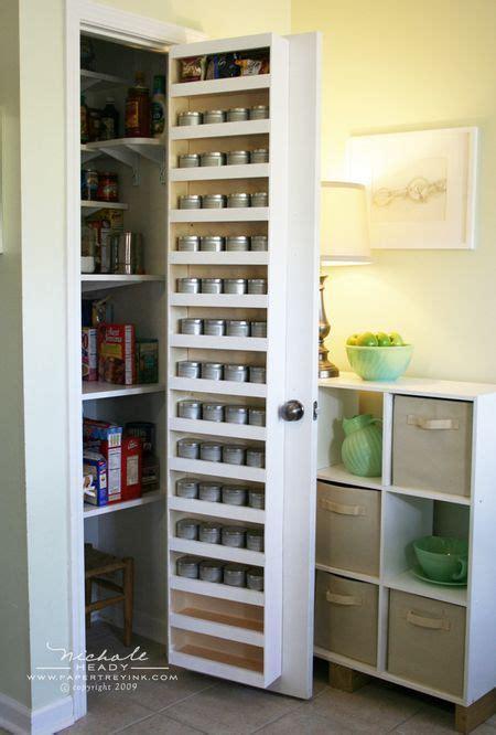 kitchen pantry door storage the door spice rack get organised 5483
