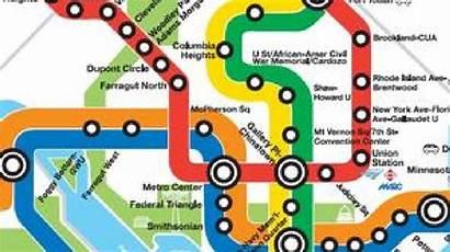 Wmata Metro Map Vote Board Courtesy