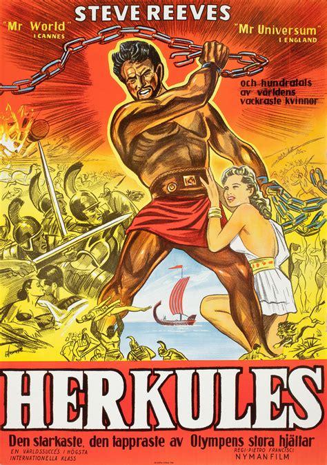 original vintage poster herkules hercules  sale
