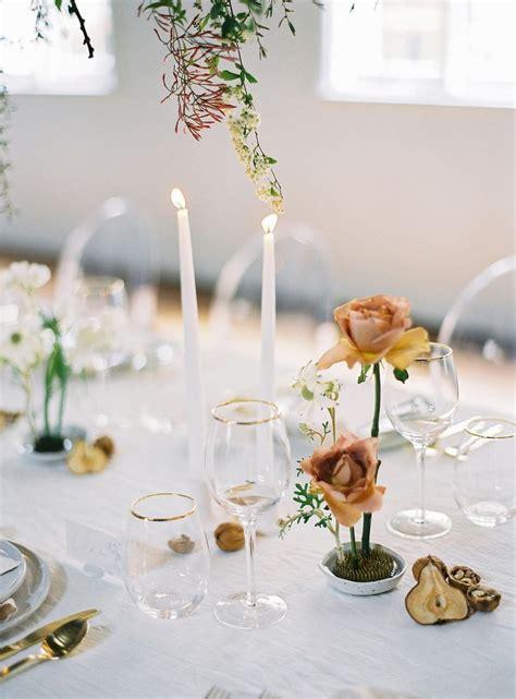 minimalist wedding  packs  design punch   wedding table settings wedding table
