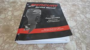 Used Oem 2001 Mercury 115 Hp Four Stroke Efi Service