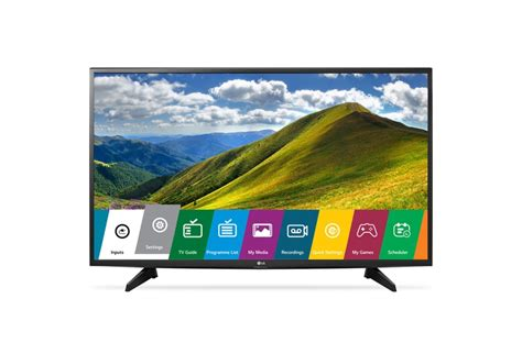 Lg 49lj523t Led Tv With Built-in Games & 20w Powerful