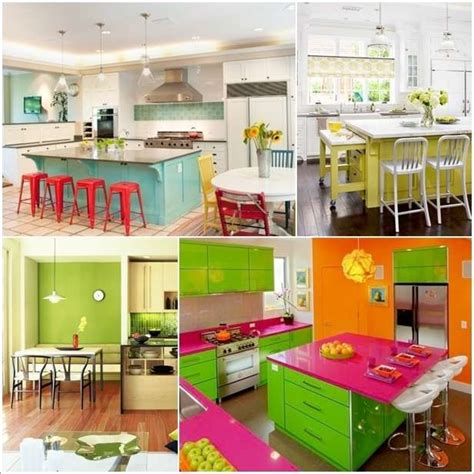 colorful kitchen 5 bright and colorful kitchen designs that are simply fabulous