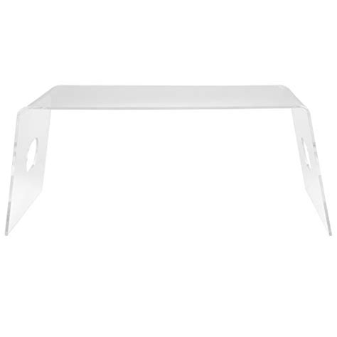 clear acrylic lap desk multipurpose clear acrylic breakfast in bed serving tray
