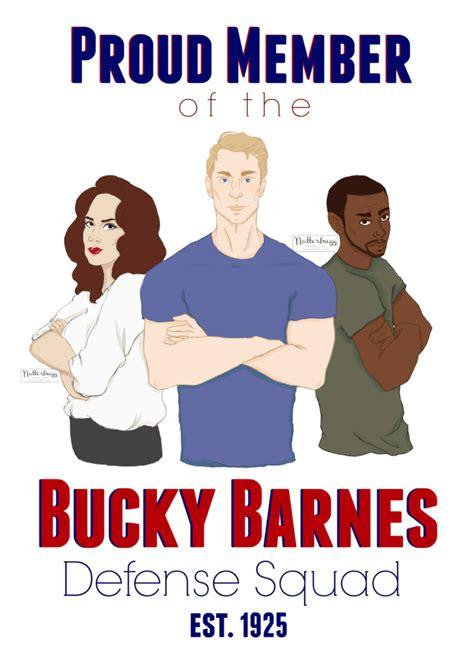 Barnes Defense by Bucky Barnes Defense Squad By Natterbugg On Deviantart
