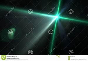 Digital, Lens, Flare, In, Black, Background, Horizontal, Frame