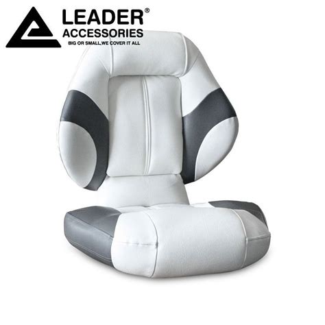 Bass Boat Seat Accessories by Leader Accessories Bass Boat Seat Fishing Chair Gray White
