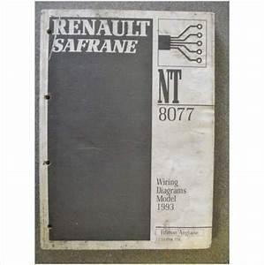 Renault Safrane Wiring Diagram English