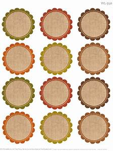 Free labels for thanksgiving leftovers digital papers for Blank round sticker labels