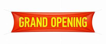 Opening Grand Banner Transparent Backround Pngimagesfree
